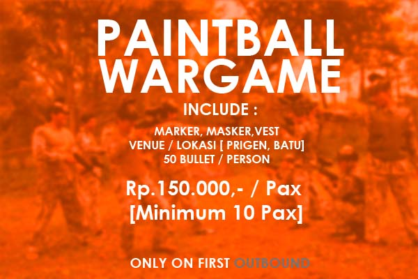 Paket Paintball Malang, Paket Paintball Batu, Paintball Murah