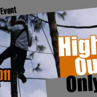 outbound games, high rope outbound, outbound malang