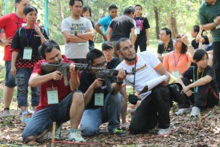 outbound training, outbound games, outbound team building