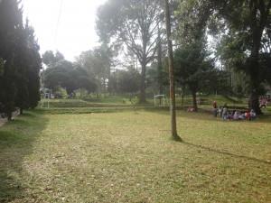 Lapangan Terbuka Hijau, Lapangan Outbound di Kebun Teh