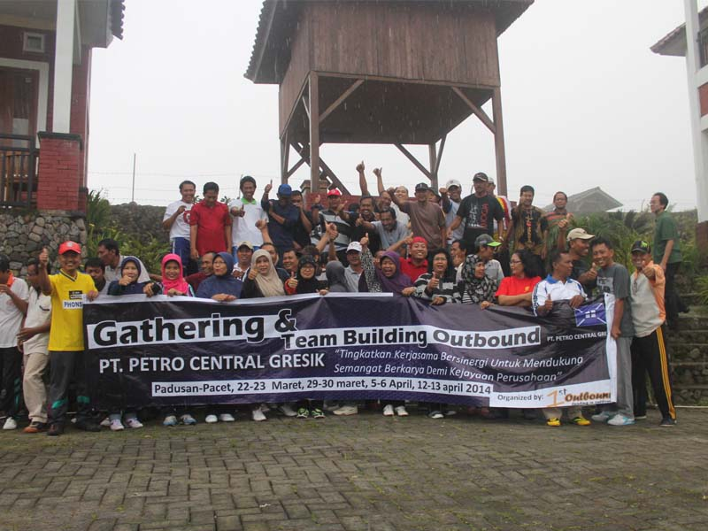 paket outbound, outbound team building, outbound di malang, petro central batch 1, 081231938011