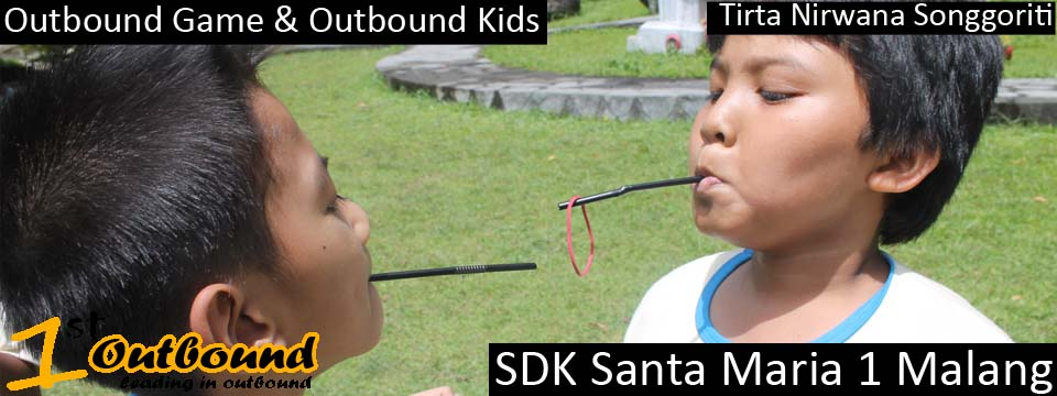 Outbound Game , Outbound Kids , SDK Santa Maria Malang