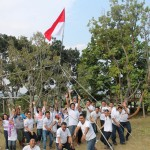 Permainan Outbound , Outbound Malang , Outbound Fun Game , Bank Mandiri KCP Sidoarjo Pahlawan 7 , 081 231 938 011