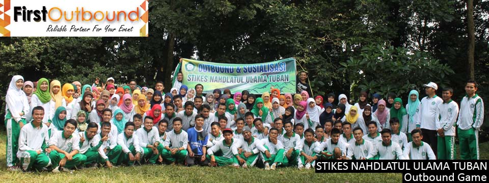 Outbound Game STIKES NAHDLATUL ULAMA TUBAN