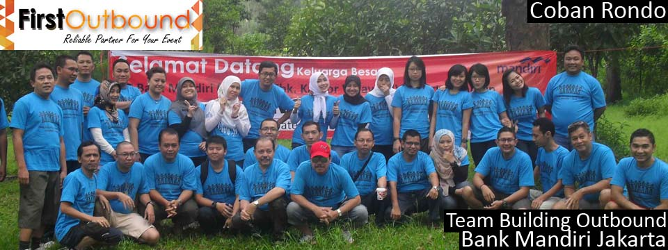 Team Building Outbound Bank Mandiri Jakarta