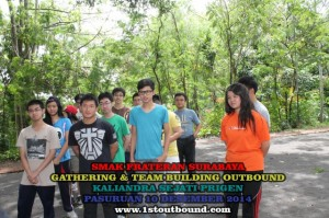 Paket Outbound , Paket Outbound Pelajar , SMAK Frateran Surabaya 1 , 081231938011