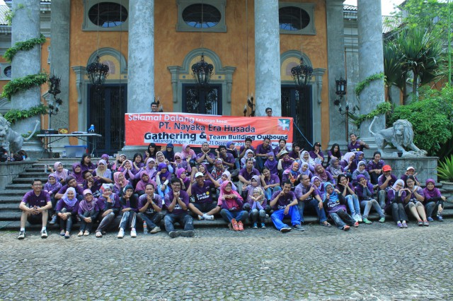 Gathering , Paket Team Building , PT. Ajinex International 3 , 081231938011