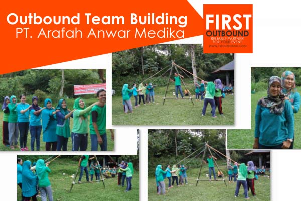 Outbound Team Building, Outbound Gathering, Outbound di Kaliandra, PT Arafah Anwar Medika