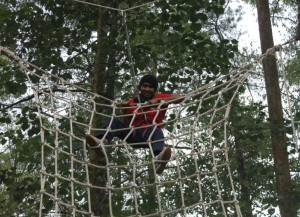 High Rope, Outbound Games, Outbound Gathering