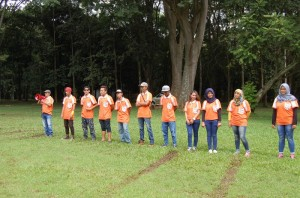 Service Crew, dan Fasilitator First Outbound