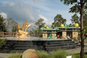 Taman Air di Bhakti Alam