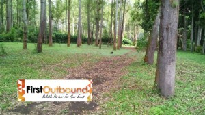 Lokasi Ground Outbound di Bumi Perkemahan Coban Rondo yang sudah diperbaharui