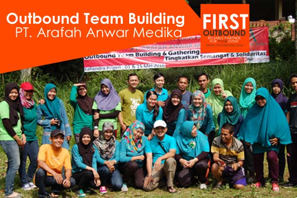 Outbound Team Building, Outbound di Kaliandra, PT. Arafah Anwar Medika Gel 1 dan 2