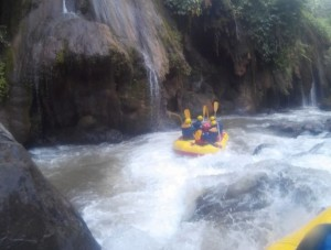 Outbound Gathering, Rafting