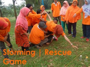 Rescue Games, Outbound Games