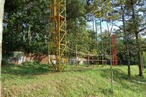 Lapangan Outbound di Bhakti Alam