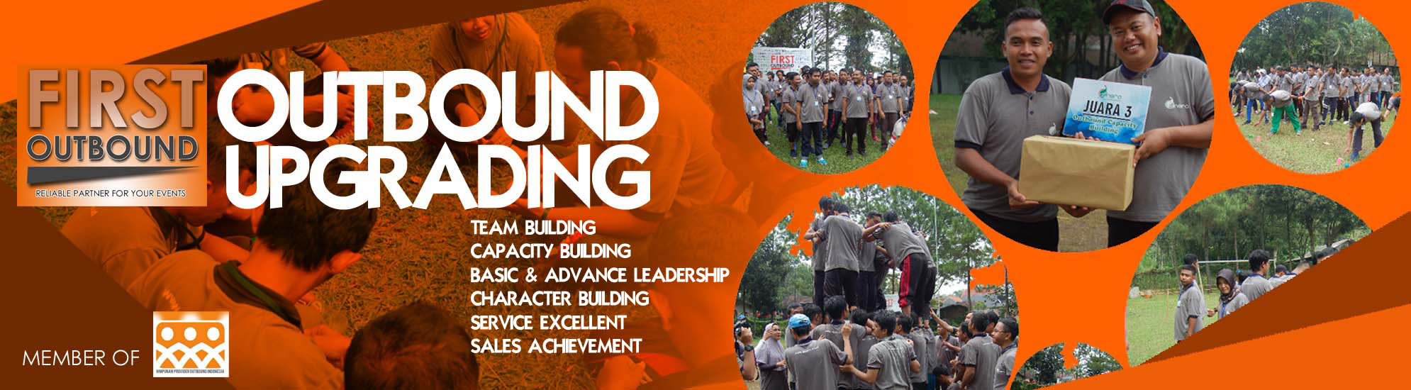 Outbound Training Upgrading