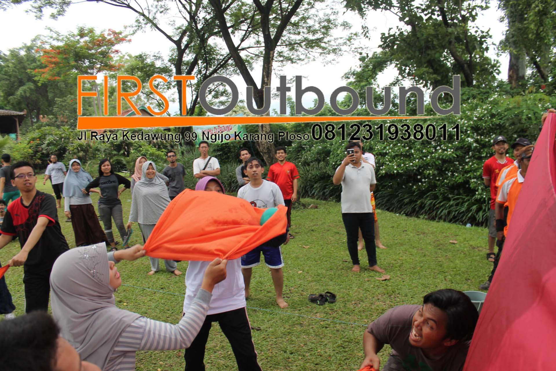 Outbound Team Building, SKP Bangkalan, Outbound Upgrading Soft Skill